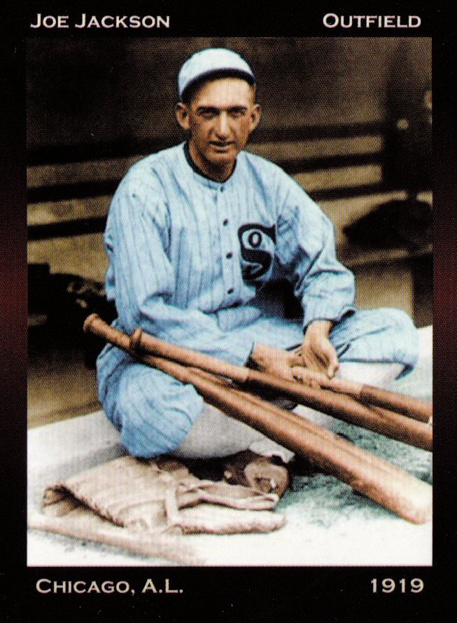 1919 Chicago Black Sox Set Of 9 Shoeless Joe Jackson